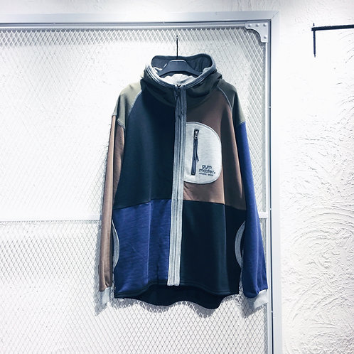 Gym Master - Mul Col Hooded Jacket