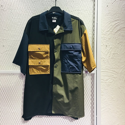 Gym Master- Button Up Safari Shirt