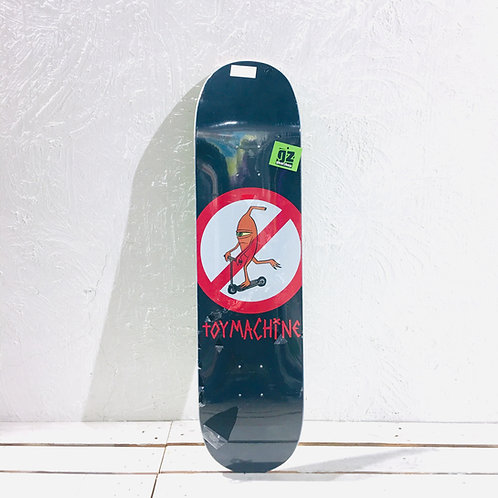 "Toy Machine - No Scooter Skateboard { Deck 8"" }"