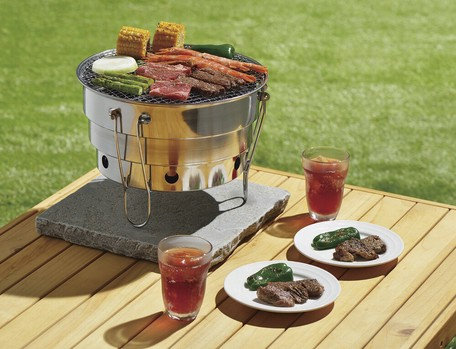 Folding Round Portable Grill