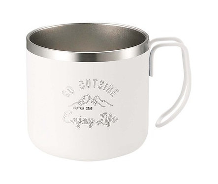 Captain Stag - Go Outside Double Stainless Mug Cup