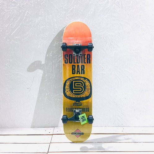 """Soldier Bar - Logo Skateboard { Complete 7.5"""" }"""