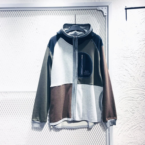 Gym Master - Mul Col Hooded Jacket