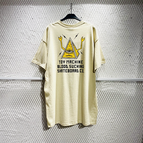 Toy Machine - Pyramid Sect Emb SS Tee
