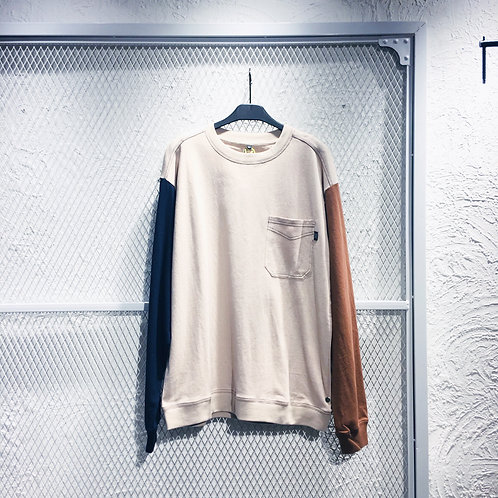 Power To  The People- Pocket Heavy Wt LS Tee