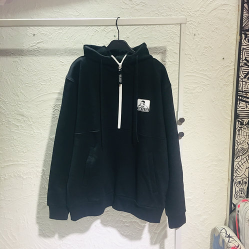 Ben Davis - JP Half Zip Hooded Sweatshirt