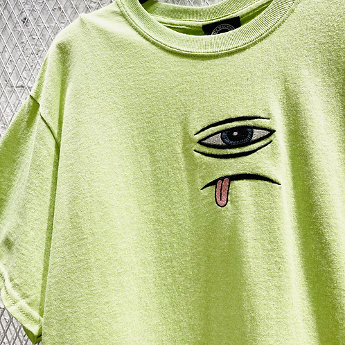 Toy Machine- Sect Eye Embroidery SS Tee