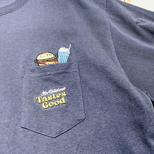 Power to the People - Embo Burger Pocket Tee
