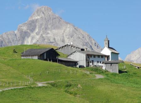 Bergmesse auf Bürstegg