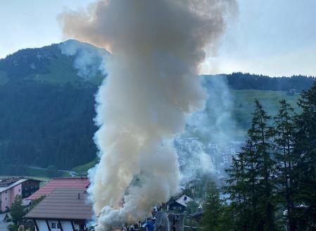 Impressionen von der Johannesrauch-Segnung und Alp-Benediktion                am 24.Juni 2020