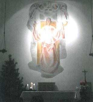 Patrozinium - Festmesse in der Christkönigskirche  in Zürs