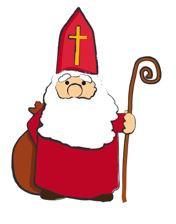 Der Nikolaus kommt zu Lecher Familien auf Besuch in die Häuser
