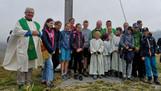 Firmlinge bei der Simmelmesse am 26.09.2021 mit Bischof Benno Elbs