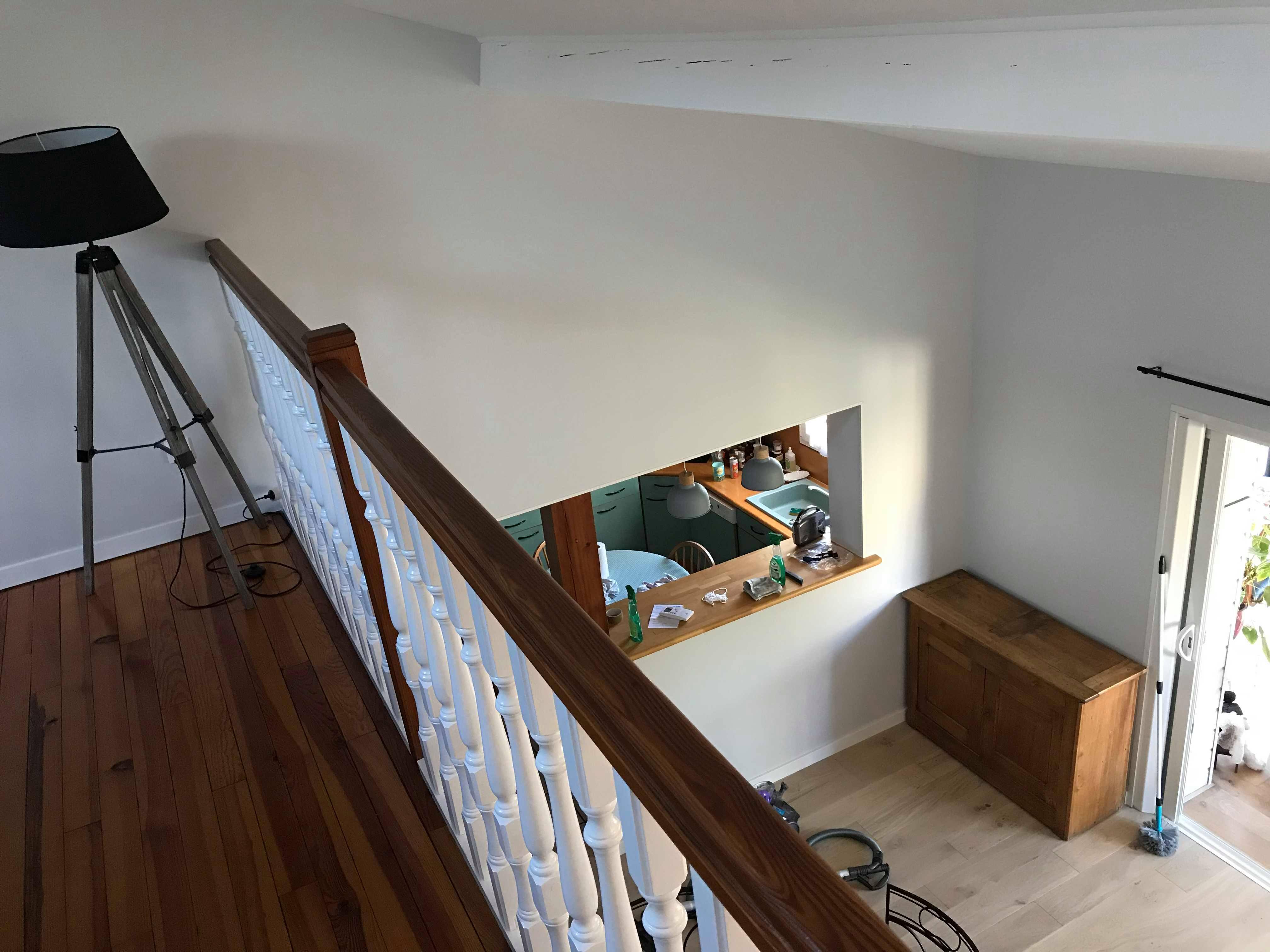 Vitrificateur Escalier Apres Peinture images rénovation sur toulouse