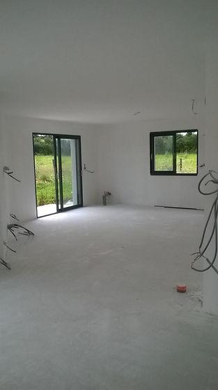 Peinture maison neuve