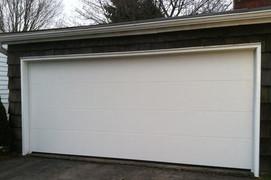 16x7 polar white flush panel