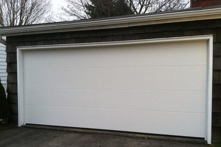 16x7 polar white flush panel