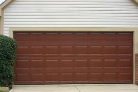 16x7 mahogany raised standard panel