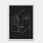 Single tear - Kit Agar