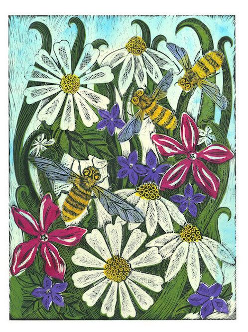 Lino Printing: Wildlife and Hedgerow