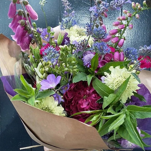 A Mother's Day Hand Tied Bouquet
