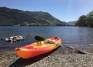 Picnics and paddling at Ullswater