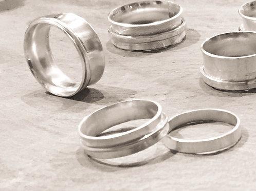 Silver Spinner Ring Workshop
