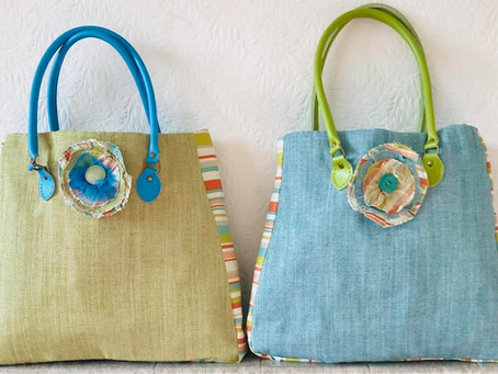 Need a new Tote bag for the summer?