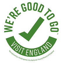We're Good to Go industry standard mark during Covid