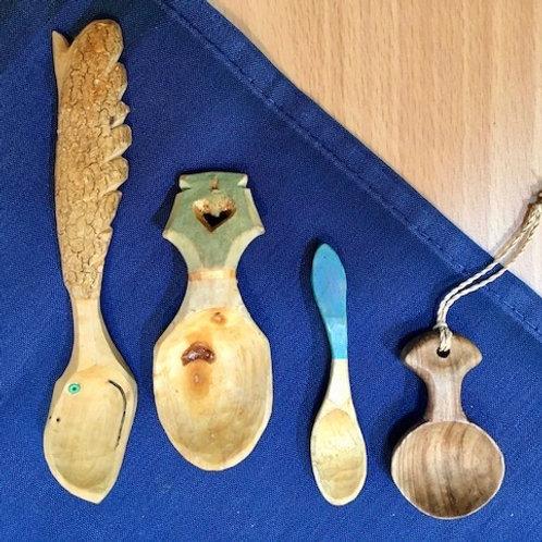 Swedish Wood Carving: Spoons & Utensils