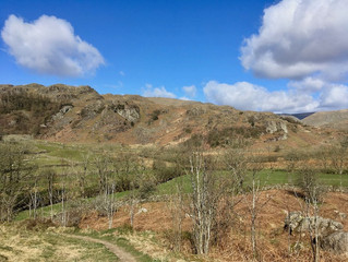 A beautiful sunny walk in the Kentmere Valley