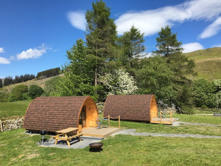 Kentmere Farm Pods is open for bookings!