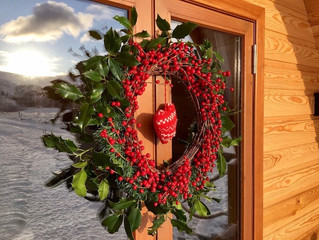 Happy Christmas from Kentmere Farm Pods!