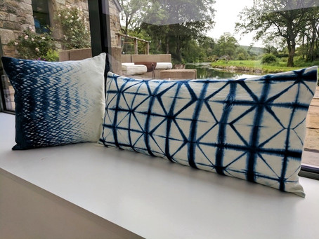 Steeped in blue at Cowshed Creative