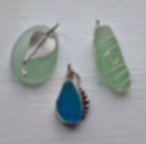 Sea glass JewelleryDawn Johnson complete