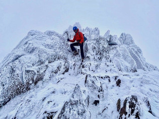Ice picks out for Helvellyn