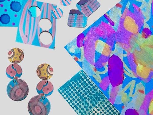 Colourful Anodised Aluminium Jewellery