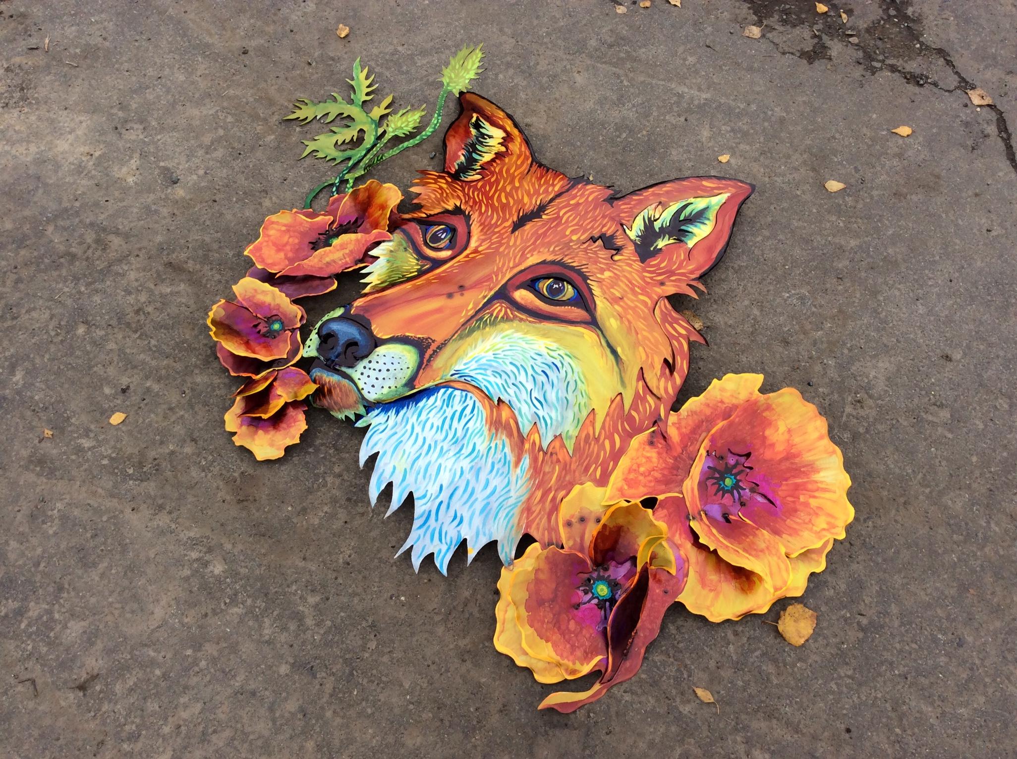 Oh poppy fox