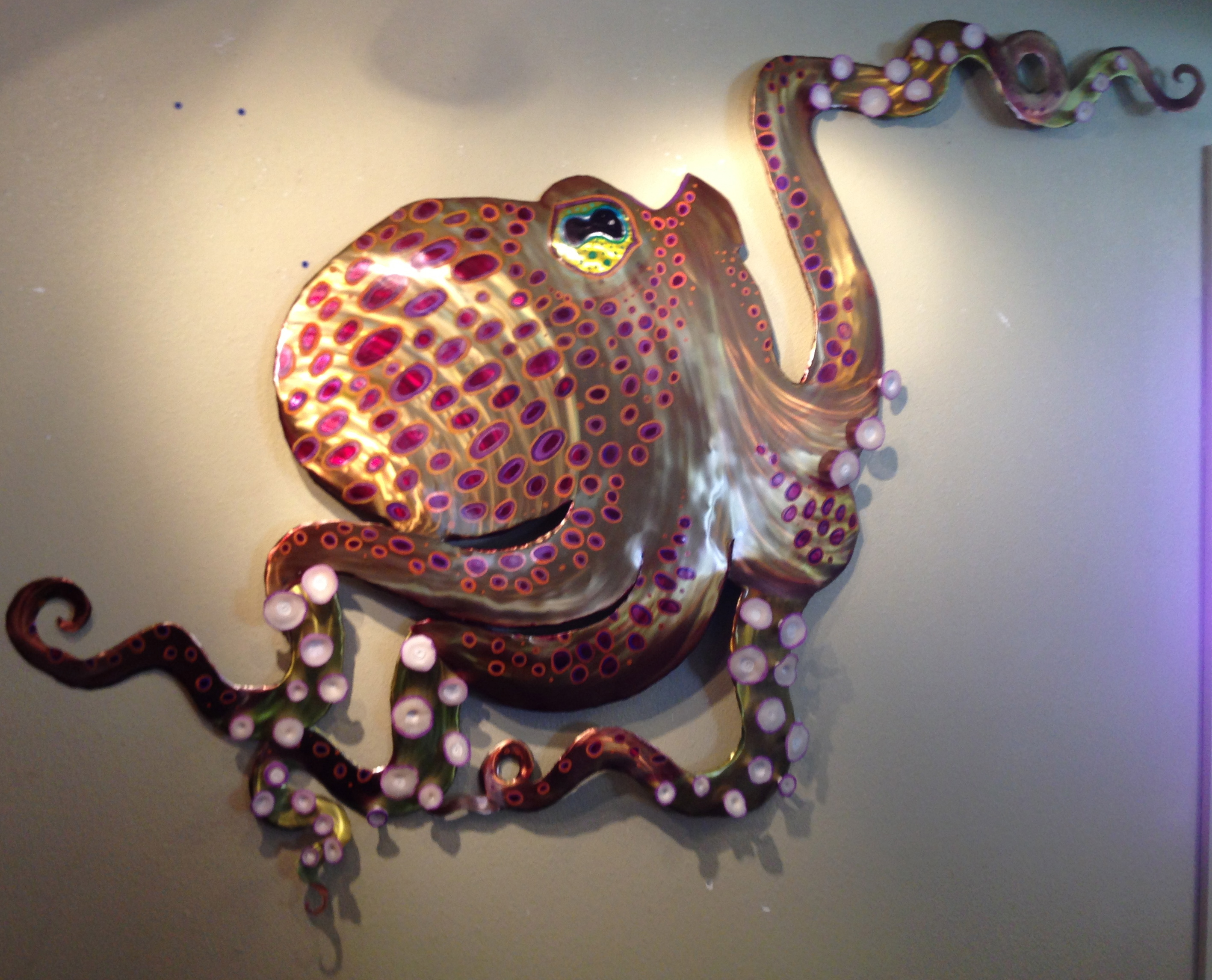 Large Custom Octopus