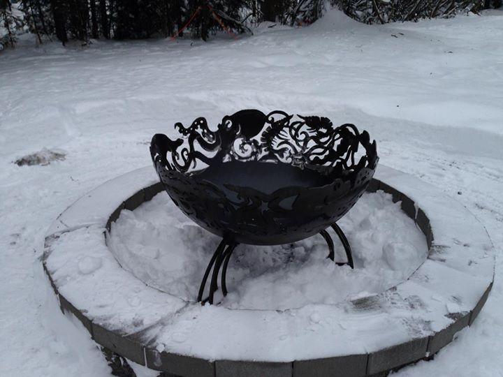 Alaskan ocean bowl