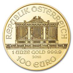 1oz Gold Philharmonic