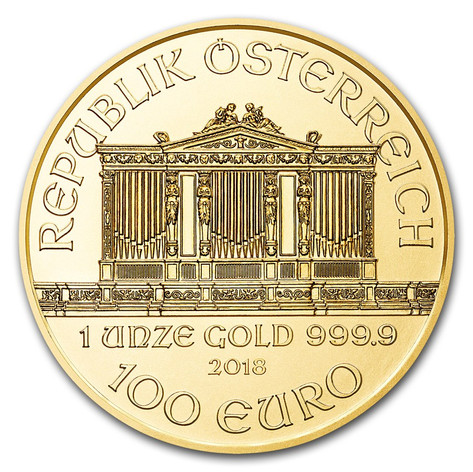 1oz Gold Philharmonic
