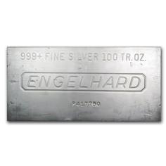 100oz Bar Silver