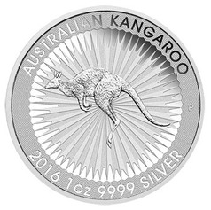 1oz Silver Australian Kangaroo