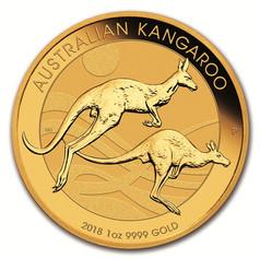 1oz Gold Australian Kangaroo