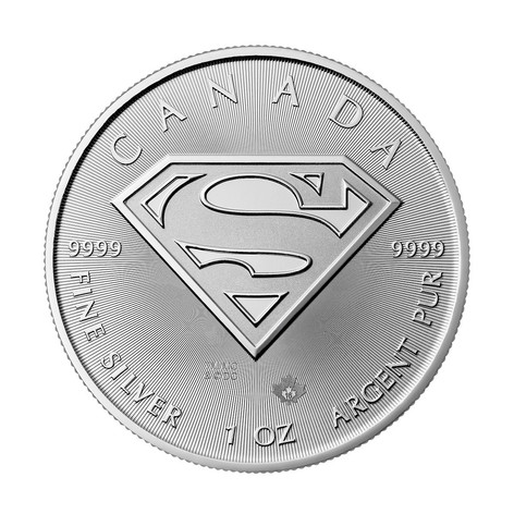 1oz Silver Superman