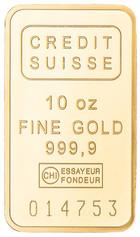 10oz Bar Gold