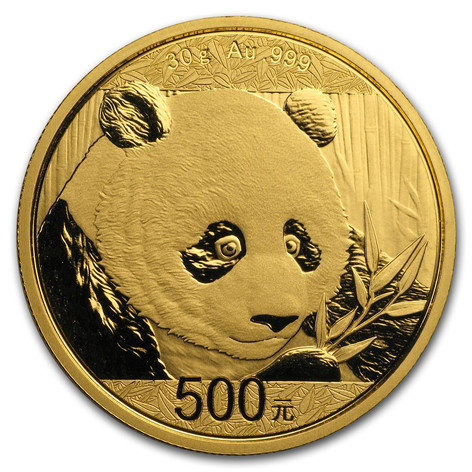1oz Gold Chinese Panda