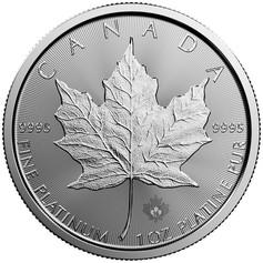 Coin Canadian Maple Leaf Platinum