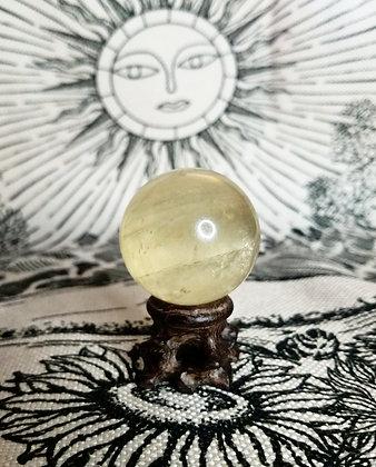 "Honey Calcite 2"" Sphere"